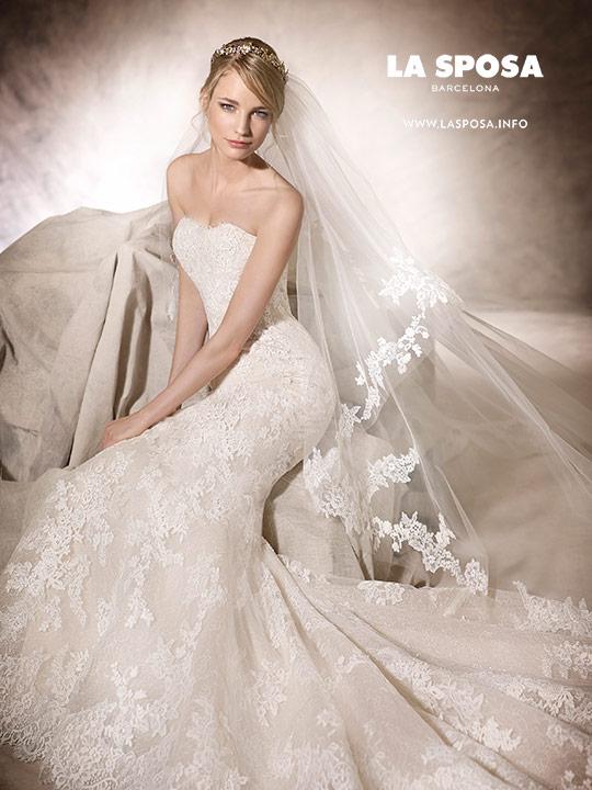 Сватбени рокли на LA SPOSA BARCELONA by PRONOVIAS FASHION GROUP колекция 2017