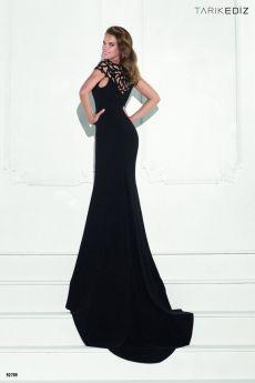 абитуриентска рокля черна бална рокля, Tarik Ediz Be Queen бутик София