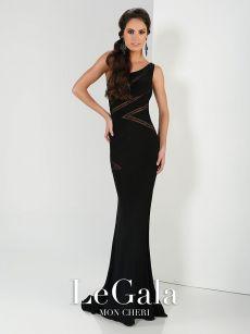 Абитуриетнска рокля черна