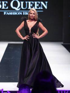 Венета Харизанова бална рокля на Be Queen Fashion House