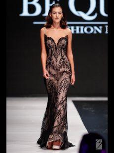 сексапилна прилепнала бална рокляна Be Queen Fashion House