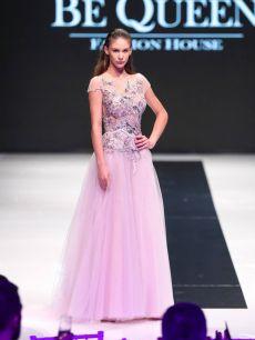 а линия бална нежна рокля на Be Queen Fashion House