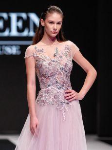 дантелена бална рокля на Be Queen Fashion House